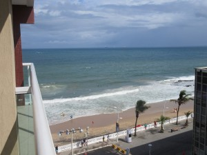 View from our balcony - Monte Pascoal Praia Hotel