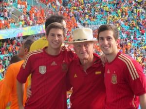 Ben, Grandpa and Dave Deckey, from Yuma, AZ