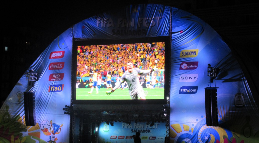 FiFA Fan Fest - Main Video Screen (BRA vs. CRO)