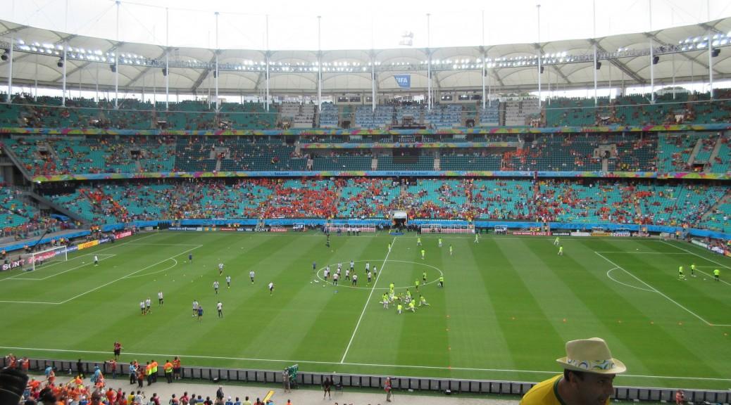 Arena Fonte Nova, from the inside...finally.