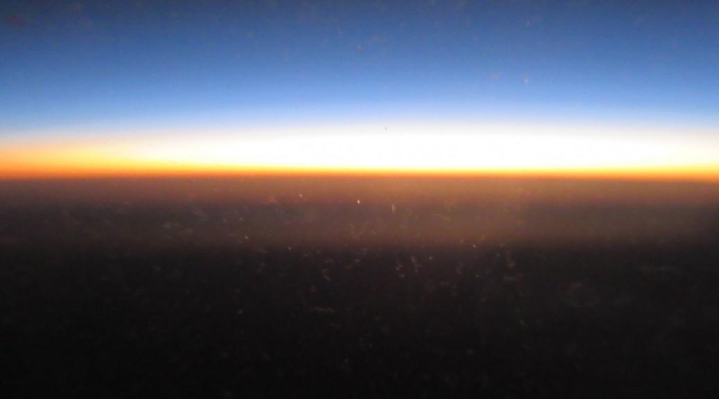 Sunrise over Rio de Janeiro
