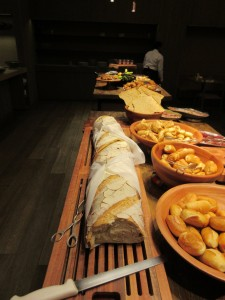 The Grand Hyatt had the best (and crustiest) bread.  Yum!