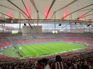 Estadio do Maracana (view from our seats)
