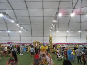 The FIFA Fan Fest Megastore in Rio de Janeiro