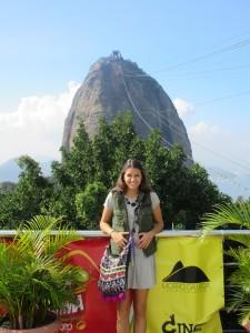Carlie on the Morro da Urca