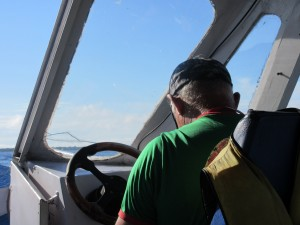Our boat captain totally reminded us of Papi Schultz (RIP).