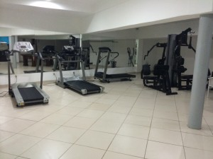 "Scary ""fitness center"", Monte Pascoal Praia Hotel in Salvador"